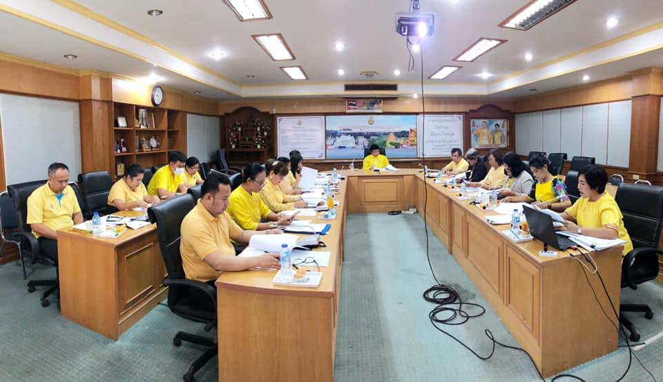 ประชุมคณะกรรมการจัดทำมาตรฐานความโปร่งใสในการดำเนินงานของสำนักงานศึกษาธิการจังหวัดกาญจนบุรี