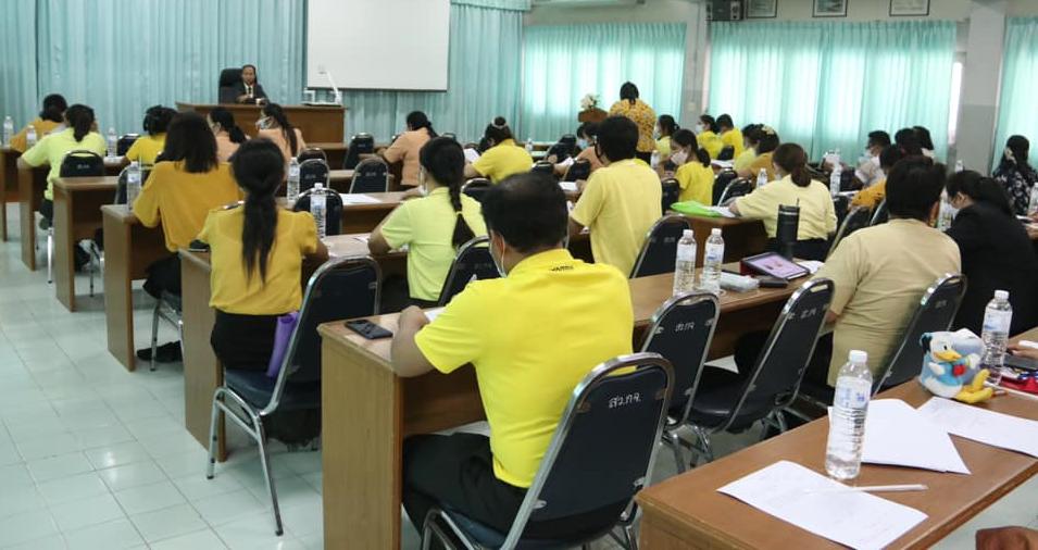 สำนักงานศึกษาธิการจังหวัดกาญจนบุรี ประชุมคณะกรรมการดำเนินการสอบคัดเลือกบุคคลเพื่อบรรจุและแต่งตั้งเข้ารับราชการเป็นข้าราชการครูและบุคลากรทางการศึกษาตำแหน่งครูผู้ช่วย กรณีที่มีความจำเป็นหรือมีเหตุพิเศษ สังกัดสำนักงานคณะกรรมการการศึกษาขั้นพื้นฐาน ปี พ.ศ. 2563