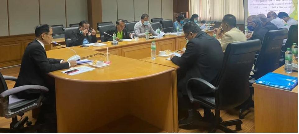 นายอนันต์ กัลปะ ศึกษาธิการจังหวัดกาญจนบุรี ประชุมชี้แจงการจัดกิจกรรมการประกวดระเบียบแถวลูกเสือ เนตรนารี ระดับจังหวัด ประจำปี 2563 ครั้งที่ 1/2563