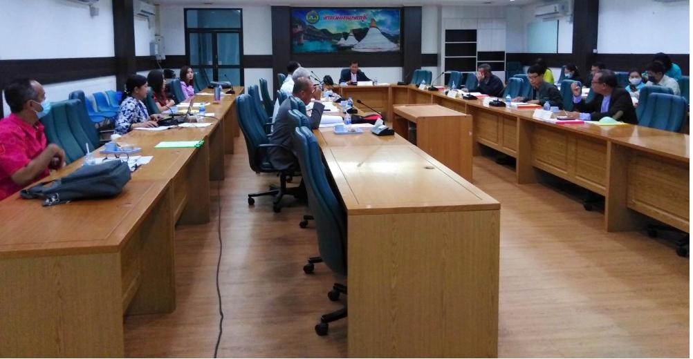 การประชุมคณะอนุกรรมการศึกษาธิการจังหวัดกาญจนบุรี (ด้านบริหารงานบุคคล) ครั้งที่ 10/2563