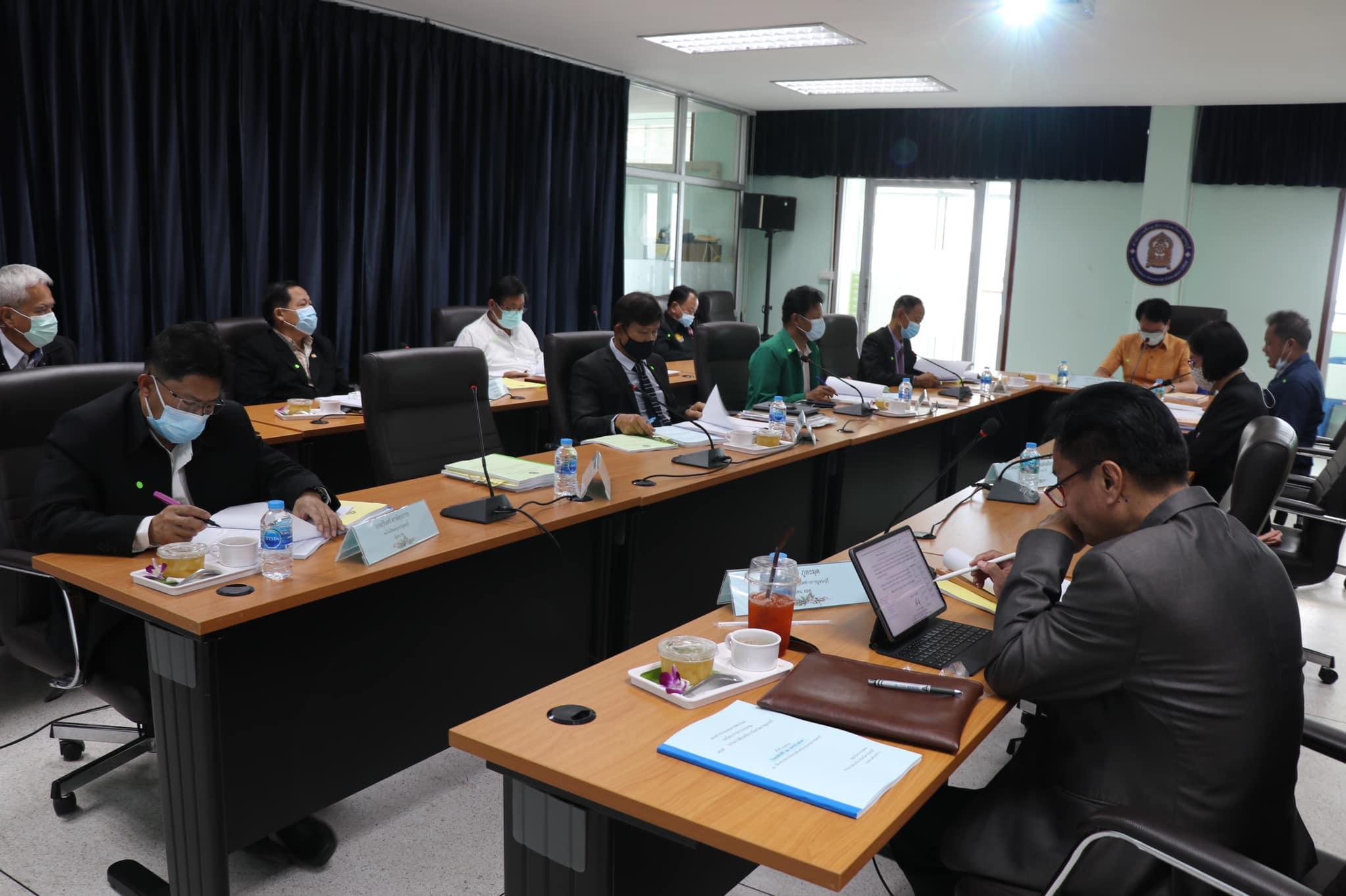 สำนักงานศึกษาธิการจังหวัดกาญจนบุรี ประชุมคณะกรรมการศึกษาธิการจังหวัดกาญจนบุรี ครั้งที่ 5/2564 ณ ห้องประชุมสำนักงานศึกษาธิการจังหวัดกาญจนบุรี อำเภอเมือง จังหวัดกาญจนบุรี