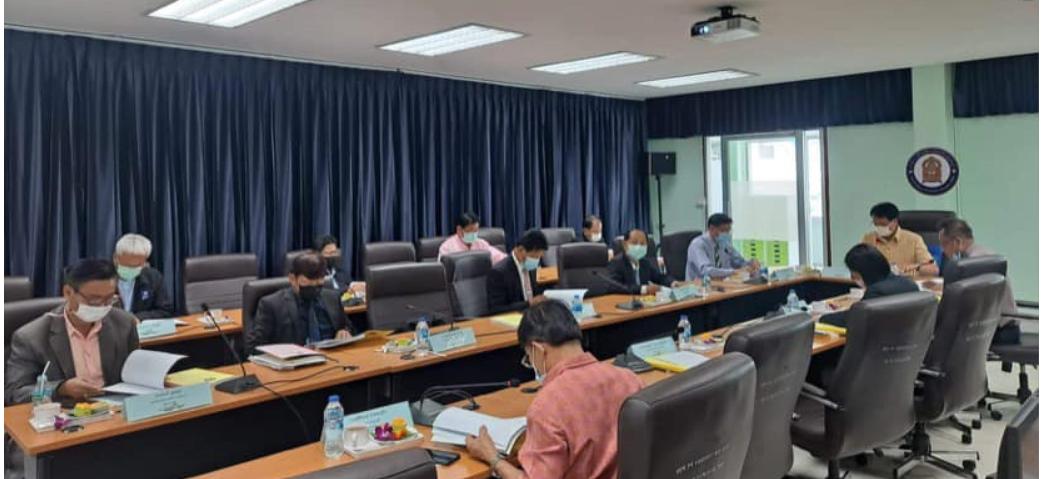 สำนักงานศึกษาธิการจังหวัดกาญจนบุรี ประชุมคณะกรรมการศึกษาธิการจังหวัดกาญจนบุรี ครั้งที่ 6/2564