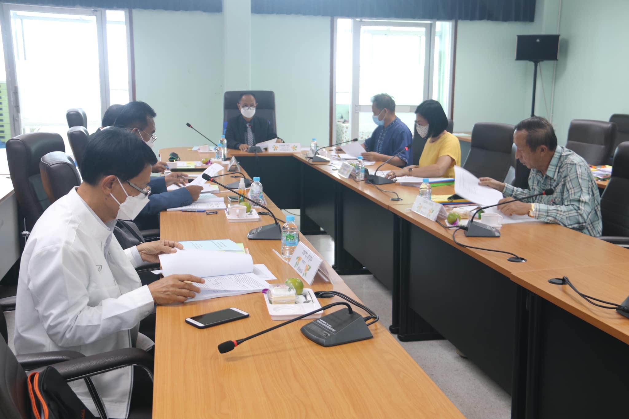นายอนันต์ กัลปะ ผู้ทรงคุณวุฒิ เป็นประธานในการประชุมคณะอนุกรรมการศึกษาธิการจังหวัดกาญจนบุรี (ด้านบริหารงานบุคคล) ครั้งที่ 8/2564