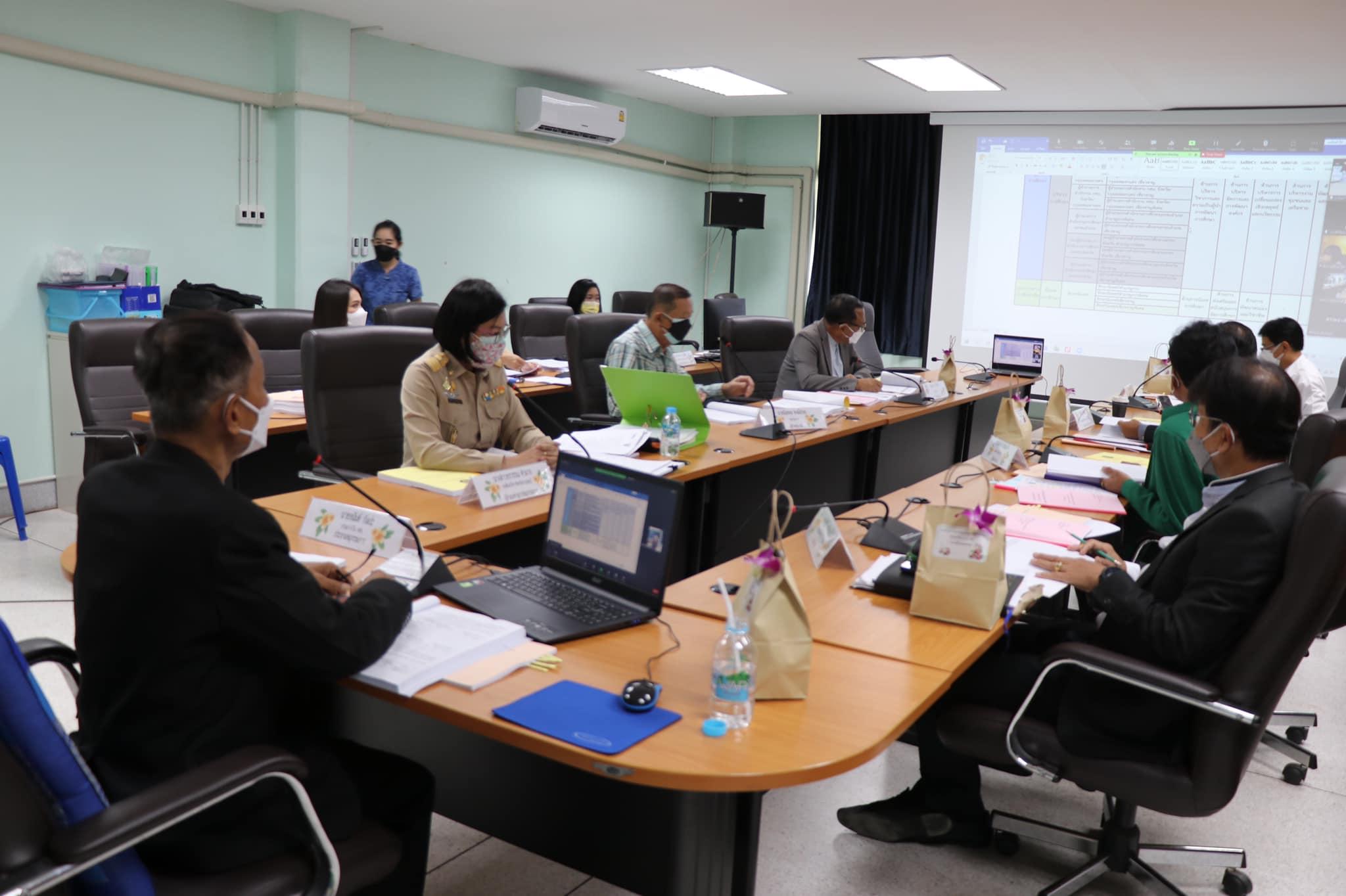 นายอนันต์ กัลปะ ผู้ทรงคุณวุฒิ เป็นประธานในการประชุมคณะอนุกรรมการศึกษาธิการจังหวัดกาญจนบุรี (ด้านบริหารงานบุคคล) ครั้งที่ 9/2564